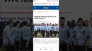 Banyak Honorer K2 Ikut Tes Pppk Tahap Ii