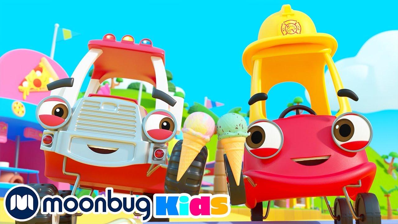 Camión de Bomberos - Apaga los Incendios | Vídeos para Niños | Cozy Coupe - Dibujos Animados