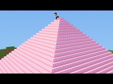 Minecraft - PIRAMIDE LUCKY BLOCK MOD! - MINI GAME PVP!