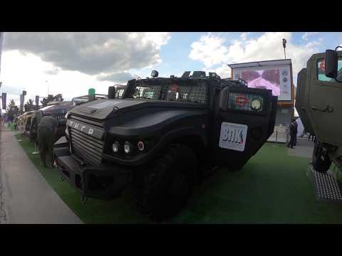Бронеавтомобиль «Тигр Next» на международной выставке Армия 2019