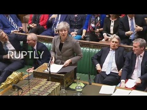 LIVE: PM May gives statements to MPs in House of Commons