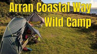 Arran Coastal Way Wild Camp