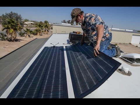 Full RV Solar & Inverter Install  ~ From Start To Finish