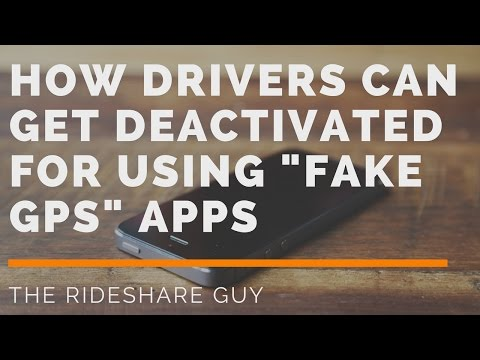 How Drivers Can Get Deactivated For Using 'Fake GPS' Apps