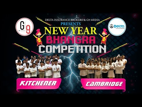 G9 Media First Kids Bhangra Competition | G9 Media Bhangra Academy Kitchener Cambridge