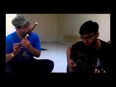 Sandiwara cinta cover -Guitar and Flute key c