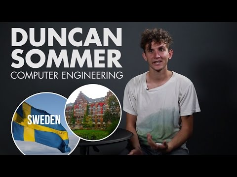 UCSB Engineering Study Abroad: Duncan in Sweden