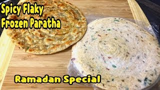Spicy Flaky Frozen Paratha / Make And Freeze For Month / Frozen Paratha By Yasmin's Cooking