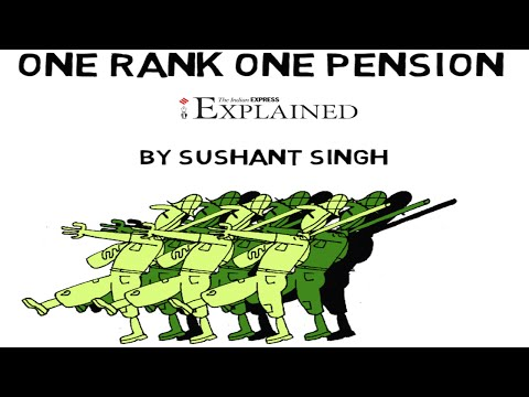 EXPLAINED: One Rank One Pension