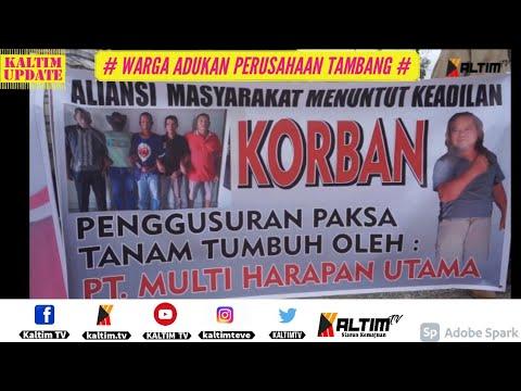 Download KALTIM UPDATE - WARGA ADUKAN PERUSAHAAN TAMBANG