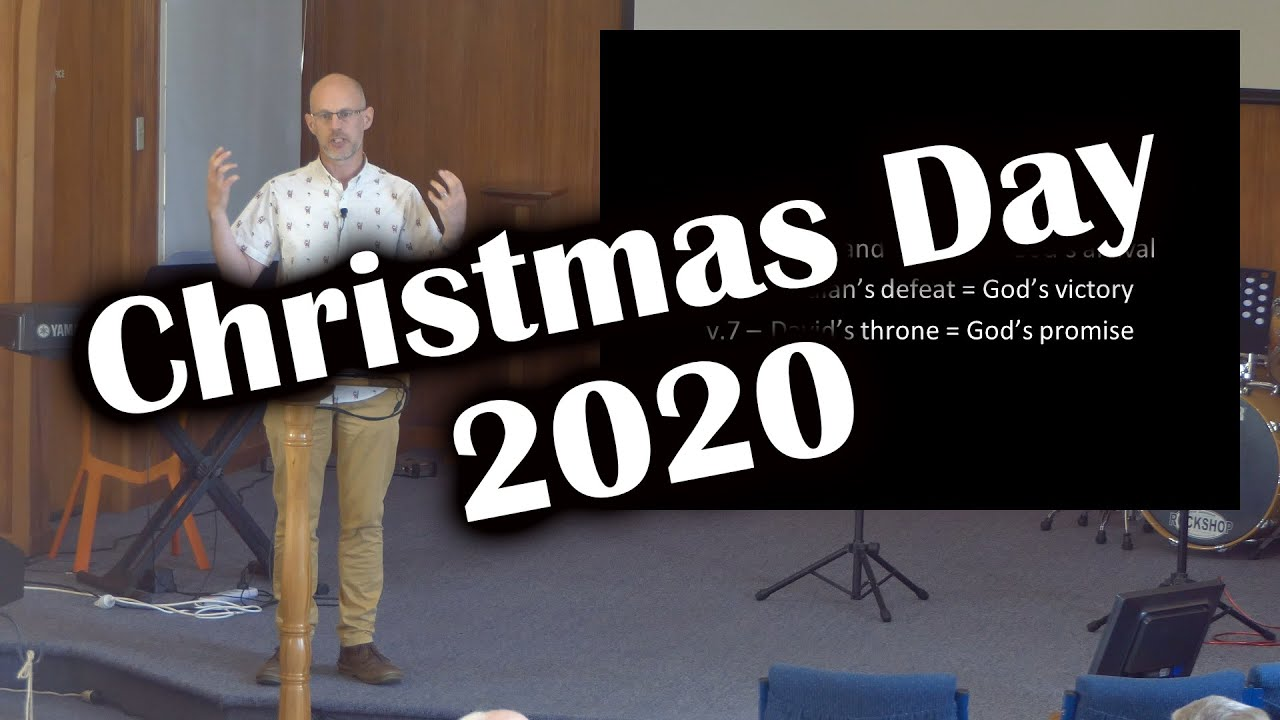 Christmas eve and Christmas day messages available!