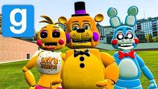 THE AMAZING FNAF 2 PILL PACK IN Gmod #2 Gmod Five Nights at Freddy's (Garry's Mod Funny Moments)
