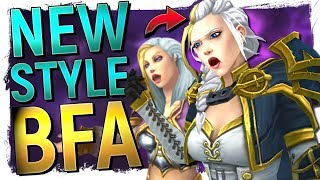 Battle For Azeroth VS World of Warcraft: Blizzard's Massive Art Evolution
