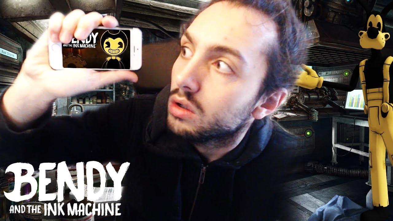 BENDY TELEFON SÜRÜMÜ ÇIKTI   BENDY AND THE INK MACHINE MOBILE