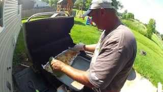 How to grill Walleye