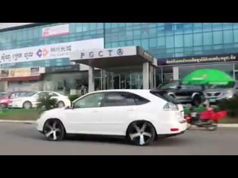 Cambodia V.I.P Car Lexus Rx330 Rim22