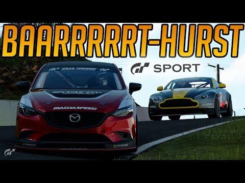 Gran Turismo Sport: Taming The Mountain & Penalties at Bathurst