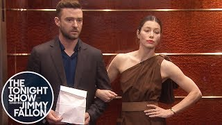 Jessica Biel Punches Jimmy Fallon in the Face over Justin Timberlake