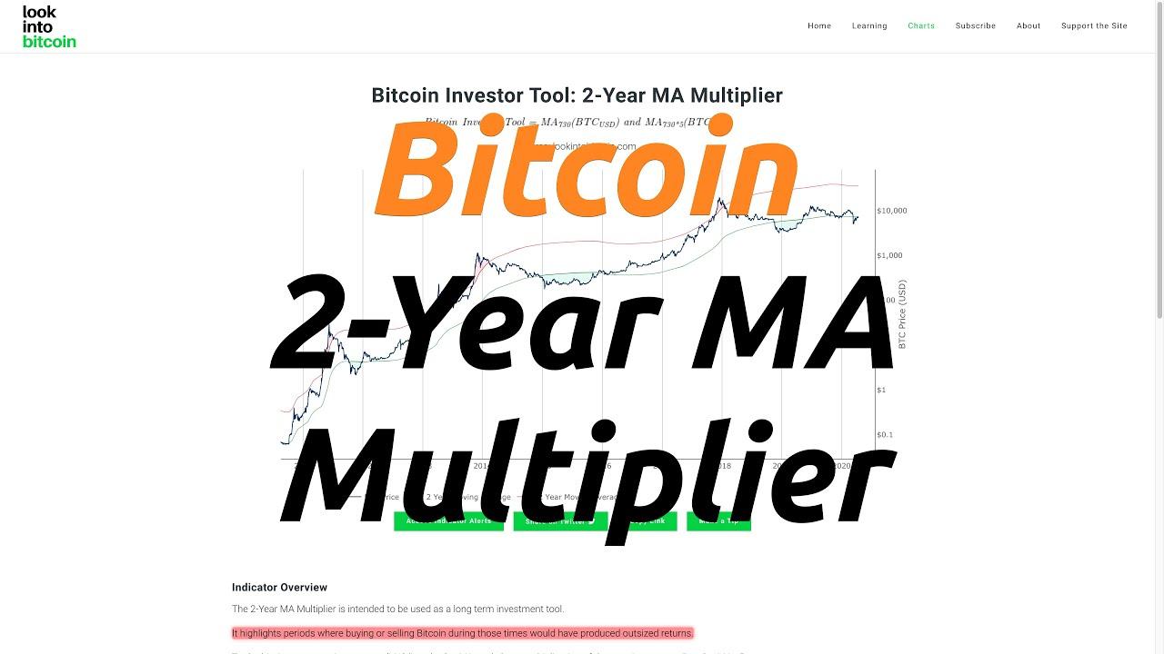 Bitcoin Investor Tool: 2 Year MA Multiplier