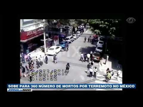 México: Sobe Para 360 O Número De Mortos Por Terremoto