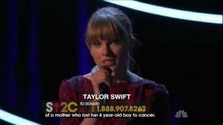 Ronan- Taylor Swift (Live)
