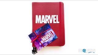 "Обзор блокнота «Марвел» / Notebook ""Marvel"""