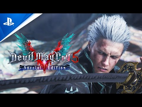 Devil May Cry 5 Special Edition - Announcement Trailer   PS5