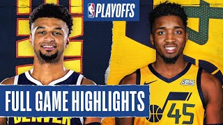 Utah Jazz vs Denver Nuggets | August 30, 2020