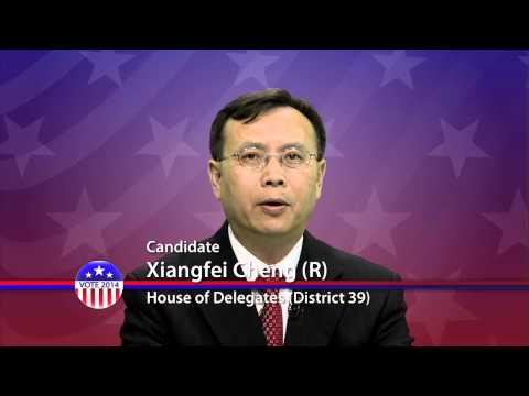 Vote Dr. Xiangfei CHENG for Maryland House of Delegates 2014