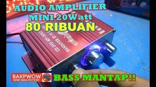Mini Audio Amplifier Murah Hanya 80 Ribuan