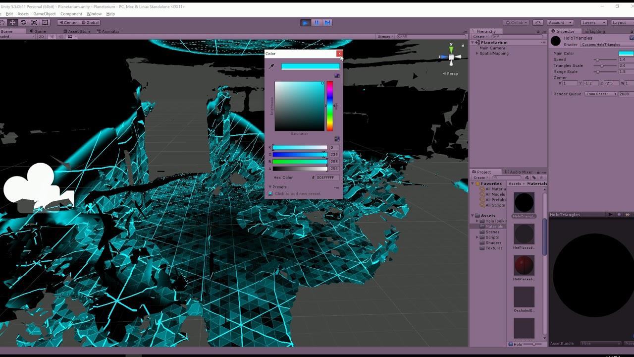 HoloLens scanning effect in Unity - Roland Smeenk