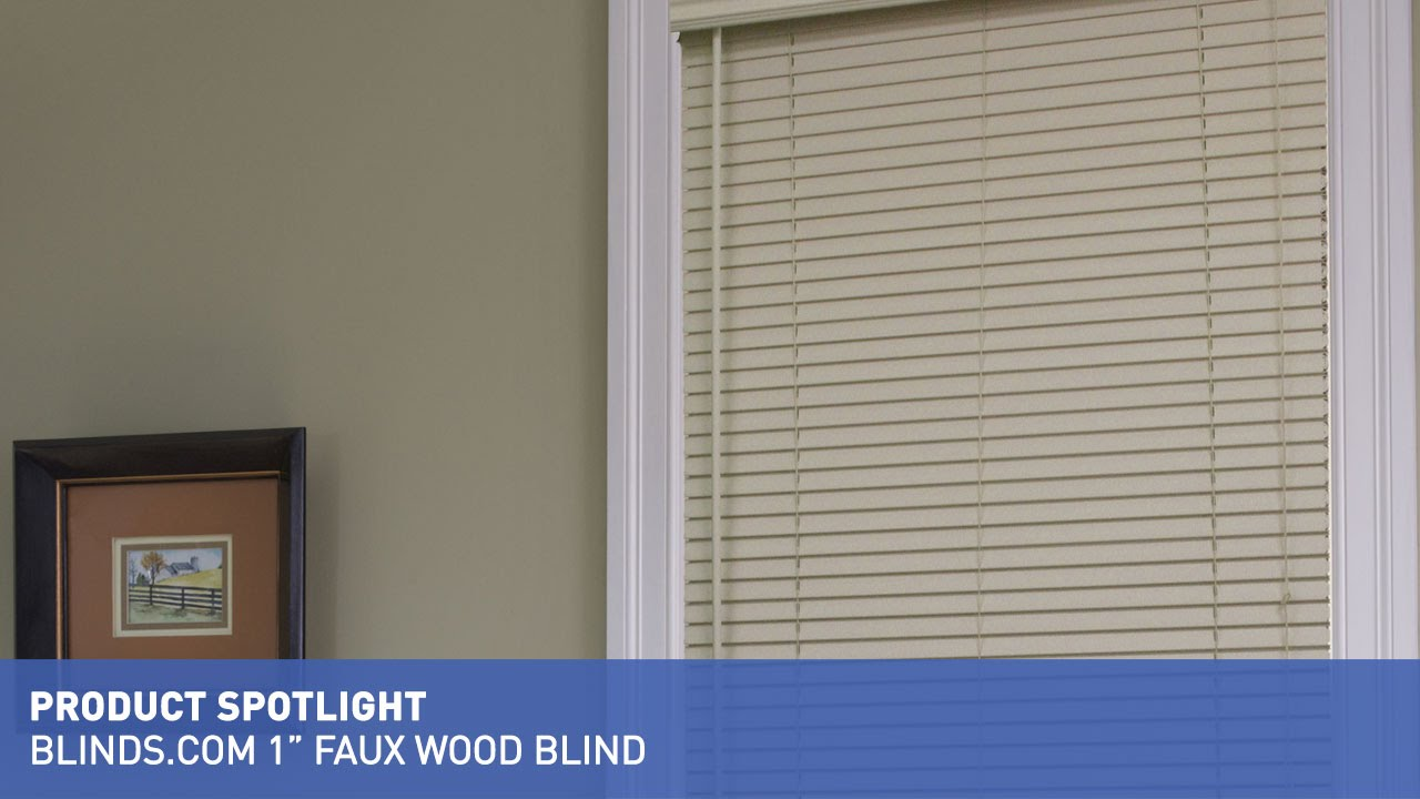 Blinds Spotlight Blinds 1 Inch Faux Wood Blinds