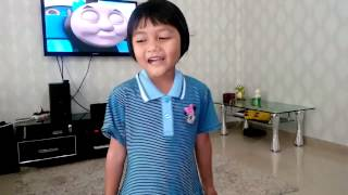 Anak Bidayuh cakap Melayu