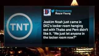 Kendrick Perkins ABUSES Joakim Noah In the Locker Room | December 19, 2013 | NBA 2013-14 Season