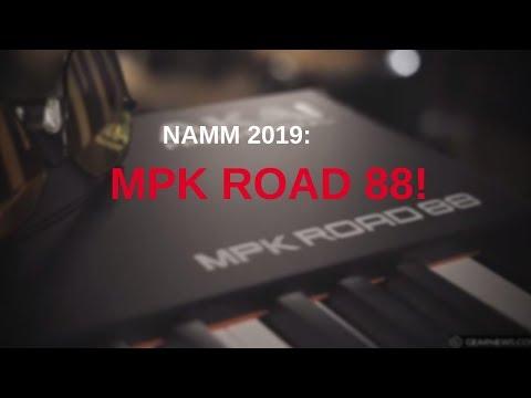 Namm 2019: Akai MPK Road 88!