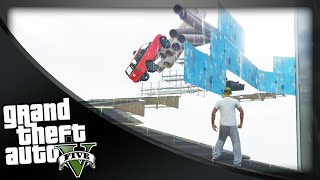 GTA 5 Funny Moments - 'JUMP THE GAP!' (GTA 5 Online Funny Moments)