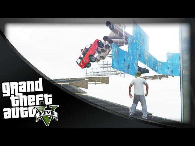 GTA 5 Funny Moments - 'JUMP THE GAP!' (GTA 5 Online Funny Moments)