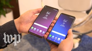 At a glance, Samsung's S9 is indistinguishable from the S8
