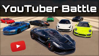 The Ultimate YouTuber Dragrace | Forza Horizon 3 | ft. Mo Vlogs, Salomondrin, JP Performance & more!