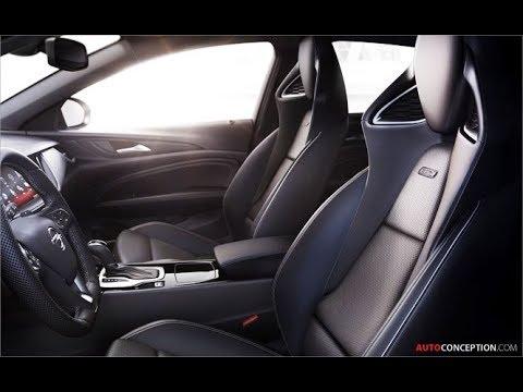 Car Seat Design: 2018 Vauxhall/Opel Insignia GSi Sport Seats