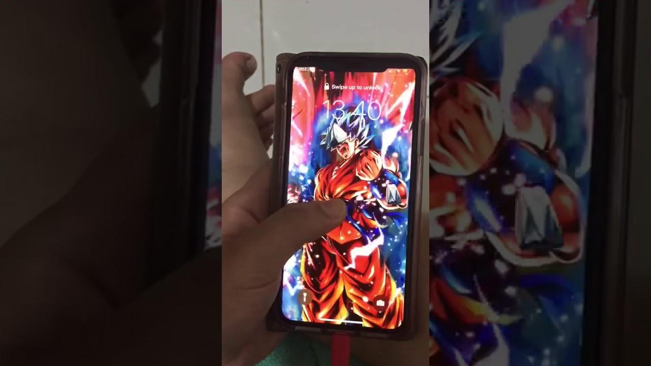 Live Wallpaper Super Saiyan Blue Kaioken Goku Youtube