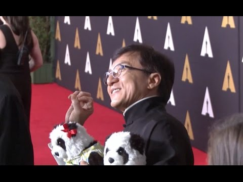 Chinese Actor Jackie Chan Awarded Honorary Oscar