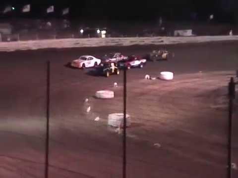 Boyd Raceway Factory Stock Heat Race 3-27-15