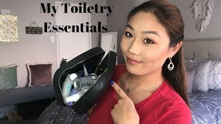 What's In My Travel Toiletry Bag | Ashley Wong