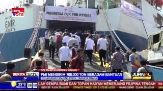 PMI Mengirimkan Bantuan untuk Korban Haiyan