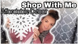 AFFORDABLE CHRISTMAS DECOR/SHOP WITH ME & HAUL