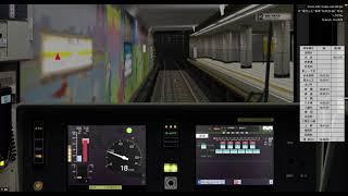 [BVE5][1080p60fps]東京メトロ銀座線 渋谷~浅草 1000系