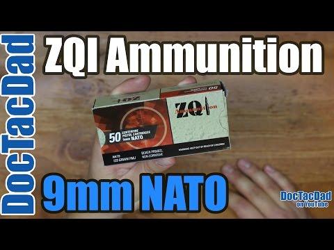 New Ammo - ZQI 9mm NATO - Ammo Breakdown