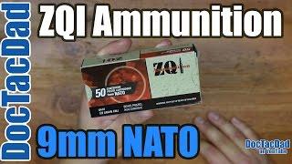 new ammo zqi 9mm nato ammo breakdown
