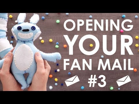 OPENING FAN MAIL #3 - Now With More (RBF) Facecam
